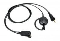 KENWOOD EMC-14 Clip Mikrofon, Ohrhörerbügel u. PTT