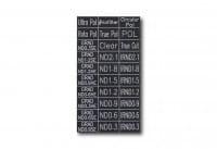 Filter Tag - Basic Set / Farbcode 111 - s/w