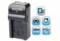 Baxxtar RAZER 600 II Ladegerät f. Canon LP-E Akkus