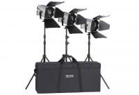 HEDLER Profilux LED 1000 - Triple Kit focussierbar