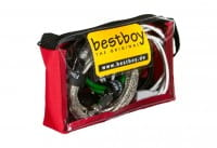 bestboy Cable Bag, Größe: M, rot