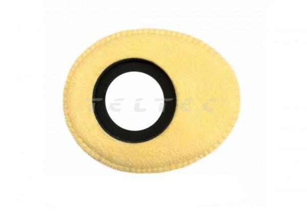 Bluestar Augenleder aus Chamois-Leder oval, groß