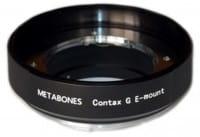 Metabones Contax G auf Sony NEX Adapter