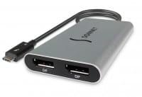 Sonnet TB3 zu Dual DisplayPort Adapter