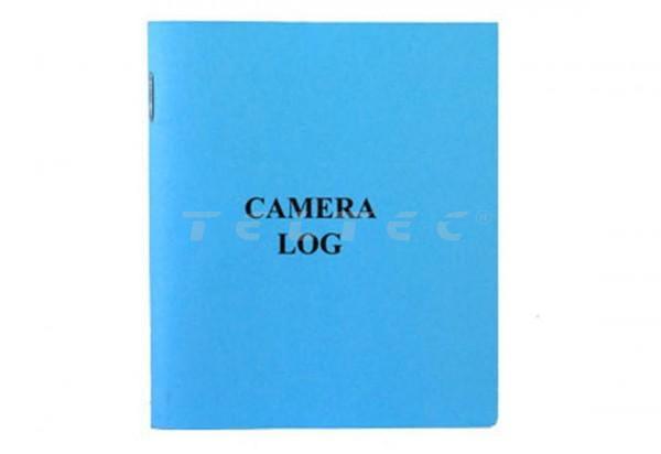 Panavision Kamera Logbuch (Blau)