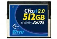 Wise CFast 2.0 Card 3500X blue 512 GB
