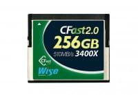 Wise CFast 2.0 Card 3400X green 256 GB